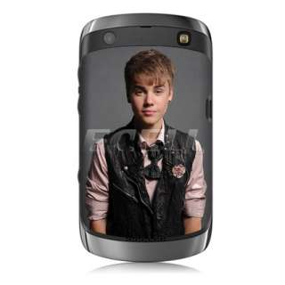 JUSTIN BIEBER BATTERY BACK COVER CASE FOR BLACKBERRY CURVE 9360