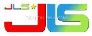 Iron On T shirt Hoodie Transfer  x2 JLS Logo  8 Colours