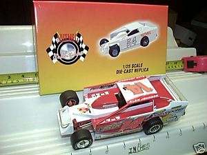 ERTL 1/25 2006 ALAN JOHNSON 14J DIRT MODIFIED CAR MINT