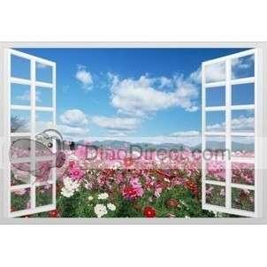 Beautiful Outside Window Nature Scenery Wall Paper   DinoDirect
