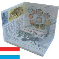 Set BU Luxembourg 2005 5 Cts a 2 os Commemorative  Guide dachat