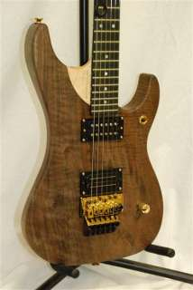 Washburn Nuno Bettencourt 2011 limited edition solid figured walnut N4
