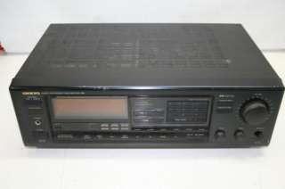 Onkyo Model TX 904 Quartz Synthesized Amplifier Tuner