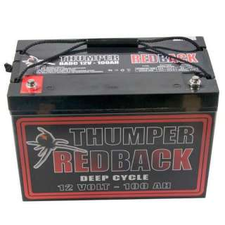 100 A/H 12V AGM DEEP CYCLE BATTERY BATTERIES