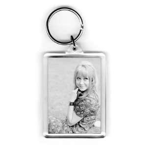 Felicity Kendal   Acrylic Keyring   Art247   Standard Size