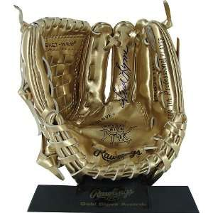Fred Lynn Rawlings Mini Gold Glove () **Web Exclusive**   Autographed