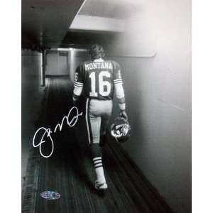 Joe Montana San Francisco 49ers   Walking Down The Tunnel