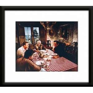 Matted 8x10 Color Photo (Lorne Greene Michael Landon) Home & Kitchen