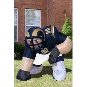 Saint Louis Rams St Huge Inflatable Mascot NFL: Sports