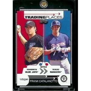 2007 Topps #TP21 Frank Catalanotto Texas Rangers Trading