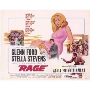 14 Inches   28cm x 36cm) (1966) Style A  (Glenn Ford)(Stella Stevens