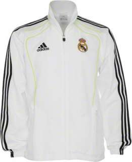Real Madrid adidas Soccer Player Presentation Track Suit