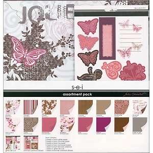 Jolie Chocolat 12 x 12 Scrapbook Page Kit