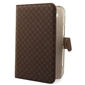 US$ 22.39   Leather Case + Stand for Samsung Galaxy Tab P1000 (Brown