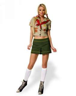 Sexy Camper Girl Adult Womens Costume
