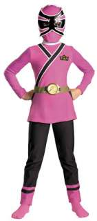 Girls Pink Ranger Samurai Costume   Power Ranger Costumes