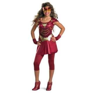 Halloween Costumes Iron Man 2 (2010) Movie   Iron Girl Child Costume