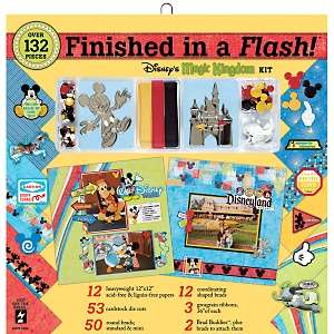 12 Finished in a Flash Page Kit   Disney® Magic Kingdom