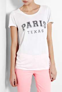 Zoe Karssen  Paris Texas Loose Fit Boyfriend T Shirt by Zoe Karssen