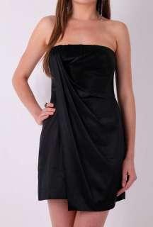 Black Strapless Boned Cocktail Dress by BCBG Max Azria   Black   Buy