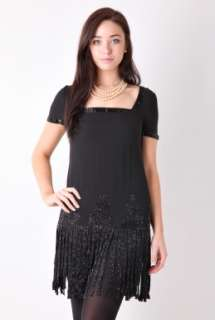 Black Squire Flapper Dress by Paul & Joe   Black   Buy Dresses Online