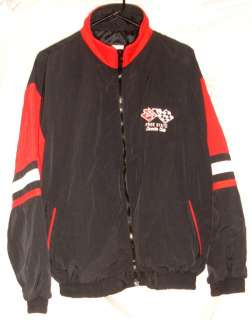 Corvette Club Embroidered Jacket Red/Black/White Maryland Mens Large
