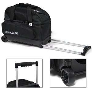 Brunswick Speed Double Roller Bowling Bag  Black