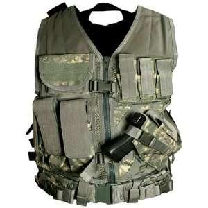 NcStar Tactical Vest Digital Camo ACU XXL