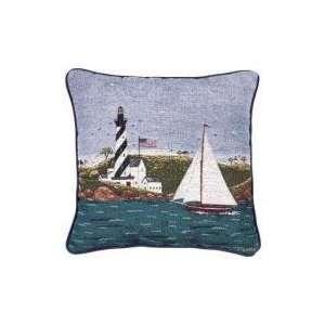 Coastal Breeze Warren Kimble Decorative Accent Throw Pillow 17 x 17