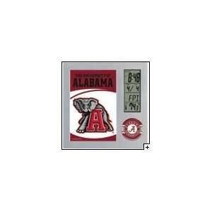 NCAA Alabama Crimson Tide Team Desk Clock