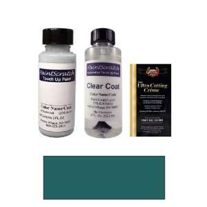 2 Oz. Medium Aquamarine Metallic Paint Bottle Kit for 1993