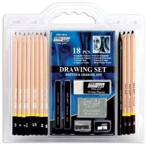 Pro Art 18 Piece Sketch/Draw Pencil Set Arts, Crafts
