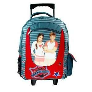 Toy Story 3   Large Rolling Backpack and lunch box bag