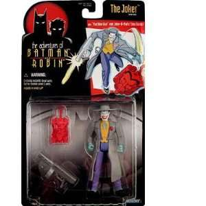 BATMAN  THE JOKER w/ MACHINE GUN & JOKER MATIC TIME BOMB MOC  Toys