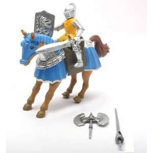 Knight Jousting Action Figure (Blue)   Battery Operated Toys & Games