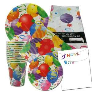 plates, napkins, cups, table cover, thank you notes Toys & Games
