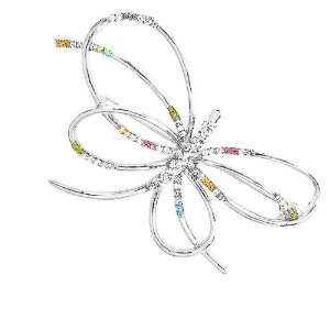 Perfect Gift   High Quality Butterfly Brooch with Multi