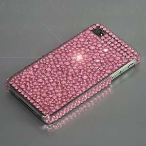 Pink / Rhinestone Plastic Case / Cover / Skin / Shell for