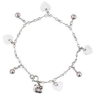Hello Kitty Heart Charm Bracelet Toys & Games