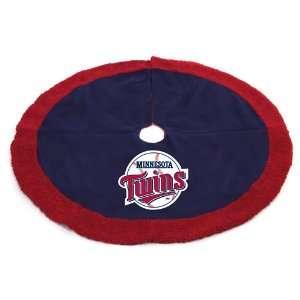 48 MLB Minnesota Twins Logo Christmas Tree Skirt
