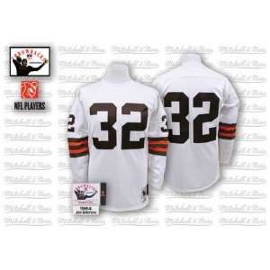 & Ness Cleveland Browns 1964 Jim Brown Authentic Throwback Jersey