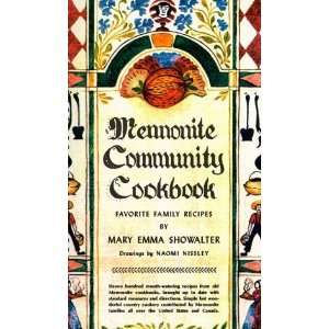 Community Cookbook [Plastic Comb]: Mary Emma Showalter: Books