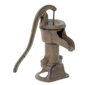 Iron Antique Style Hand Water Pump ~ Garden Pond Decor