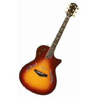 Taylor Guitars T5C Custom Acoustic Electric Guitar, Honey
