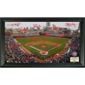 Field MLB Baseball Signature Field Framed Art