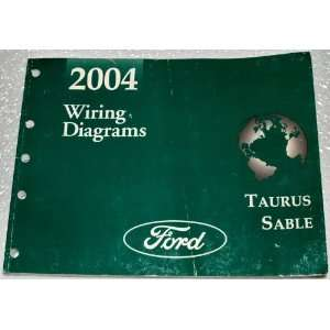 Taurus, Mercury Sable Wiring Diagrams (ETM) Ford Motor Company Books