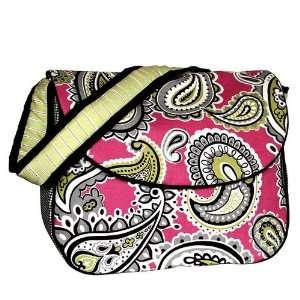 Pink Whimsey Messenger Diaper Bag Baby