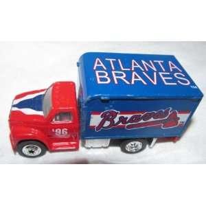 Atlanta Braves 1996 Matchbox Truck 1/64 Scale Diecast Car