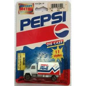 DIET PEPSI Diecast PEPSI COLA Delivery Truck (1993) Toys & Games