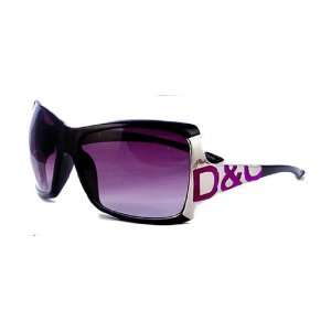 Ladies Womens Shades Sunglasses Purple Black Inspired by D